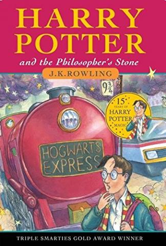 Harry Potter and the Philosopher's Stone Book 1 By J.K Rowling