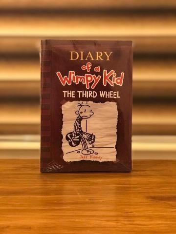 Diary Of A Wimpy Kid The Third Wheel By Jeff Kinney Ammancart