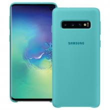 SAMSUNG GALAXY S10 SILICONE COVER - GREEN