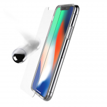 Otterbox Clearly Protected Skin iPhone X Clear W/ Alpha Glass