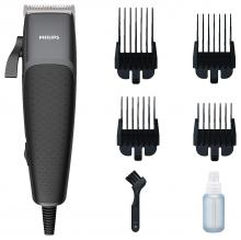 PHILIPS HC3100 HAIR CLIIPER COPPER MOTOR COIL STEEL BLADES 4CLICK-ON COMBS