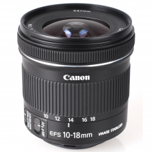 Canon EF - S 10 - 18MM F4.5 - 5.6 IS STM Lens