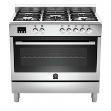 La Germania 90 x 60 cm, 5 Gas Burners, Stainless steel Cooker TUS95C81BCX