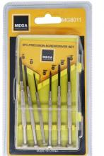 MEGA 6 PCS PRECISION SCREWDRIVER SET