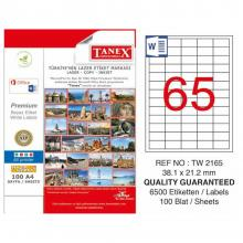 TANEX Address labels TW2165