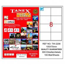 TANEX identification labels TW2208