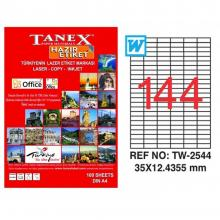 TANEX Address labels TW-2544