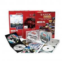 TANEX CD label Set 8+2 Pcs LCJDVD