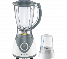 CONTI TB-9301-W BLENDER, 300W, 1.5L, PLASTIC, WITH GRINDER - WHITE